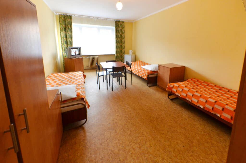 Tani pokój 3-osobowy w Szczecinie w tanim hostelu Migrand